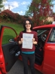 Hazel Date passed with Angela Driving School
