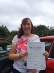 Sarah Harris passed with Angela Driving School