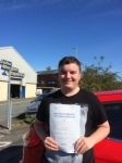 Cellan Thomas passed with Angela Driving School
