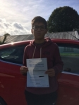 Zach Garland passed with Angela Driving School