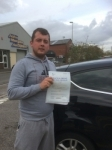 Daniel Jenkins passed with Angela Driving School