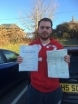 David Roberts passed with Angela Driving School