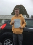 Damien Richardson passed with Angela Driving School