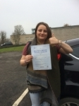 Angharad James passed with Angela Driving School