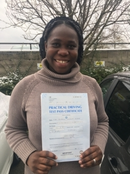 Ohh! thank you soo much for  all your help. No driving instructor made me feel comfortable and relaxed for my lessons like my driving instructor did.<br /> <br /> I will highly recommend ABC driving school to anyone looking for a good instructor, who is on time and also flexible.<br /> <br /> Thanks for helping me pass my practical test.