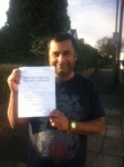 Adrian, LONDON passed with ABC Driving School