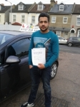 Ali passed with ABC Driving School