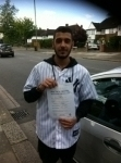 Andrew, ENFIELD passed with ABC Driving School