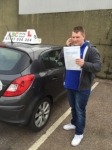 JAMES, SELSDON passed with ABC Driving School