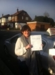 Joanne, East Finchley passed with ABC Driving School