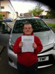 MARTIN passed with ABC Driving School