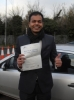 Nanda, Crytal Palace passed with ABC Driving School