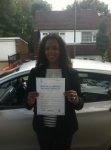 Natasha MUSWELL HILL passed with ABC Driving School