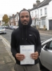 Nathan, CROYDON passed with ABC Driving School