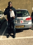 Ricardo passed with ABC Driving School