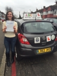 Rina, TULSE HILL passed with ABC Driving School