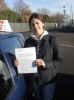 SABINA passed with ABC Driving School