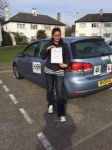 Sarah, THORNTON HEATH passed with ABC Driving School