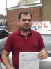SHUBHAM, LONDON passed with ABC Driving School