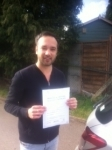SUNIL, LONDON passed with ABC Driving School