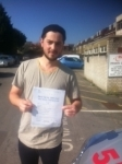 William, LONDON passed with ABC Driving School