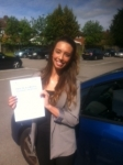 Zainab, LONDON passed with ABC Driving School