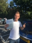 Tom, Hampstead passed with ABC Driving School