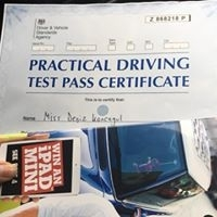 Well done to Deniz Koncagul for passing her test at West Didsbury....