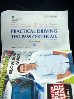 Congratulations to Motti Lock for passing his practical test at Cheetham Hill.  Well done and stay safe....