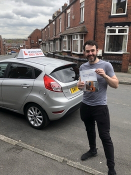 Congratulations to Tom Liversedge for passing his practical test at Bolton.  Well done.