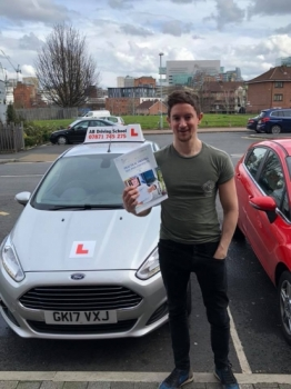 Congratulations to Alex Jackson for passing his practical test this afternoon at Sale test centre. <br /> <br /> Well done, see you on the motorway lesson!