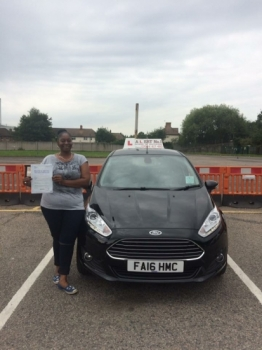 Sharon is a great teacher she makes you feel comfortable and confident lovely warm personality will always recommend her to others great driving instructor