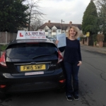 Emma passed with Alert No1 School of Motoring