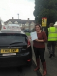 Audra passed with Alert No1 School of Motoring