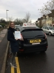 Alina passed with Alert No1 School of Motoring