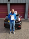Anton passed with Alert No1 School of Motoring