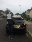 Ashleigh passed with Alert No1 School of Motoring