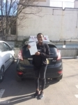 Dynelle passed with Alert No1 School of Motoring