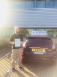 Gill passed with Alert No1 School of Motoring