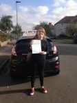 Emmie passed with Alert No1 School of Motoring