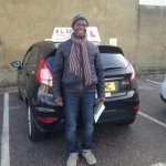 daniel passed with Alert No1 School of Motoring