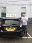 John passed with Alert No1 School of Motoring