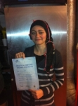 Melek passed with Alert No1 School of Motoring