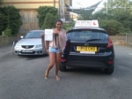 Itan passed with Alert No1 School of Motoring