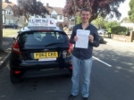 Dennis passed with Alert No1 School of Motoring