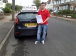 Hamit passed with Alert No1 School of Motoring