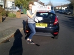 Taylor passed with Alert No1 School of Motoring