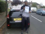 Ayo passed with Alert No1 School of Motoring