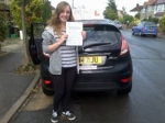 Bess passed with Alert No1 School of Motoring
