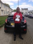 Calvin  passed with Alert No1 School of Motoring